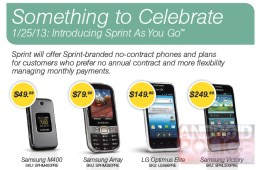 Sprint As You Go leak