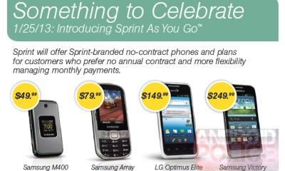Sprint As You Go leak