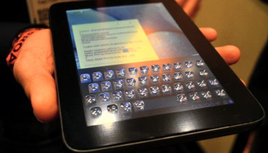 Tactus Morphing Touch Screen demos