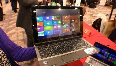 Toshiba U925t Ultrabook Convertible Hands On - 2