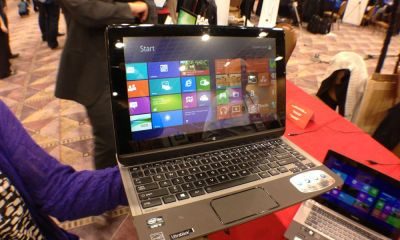 Toshiba U925t Ultrabook Convertible Hands On - 2