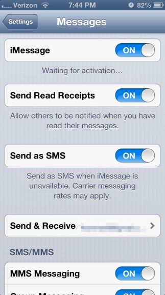 Waiting Activation