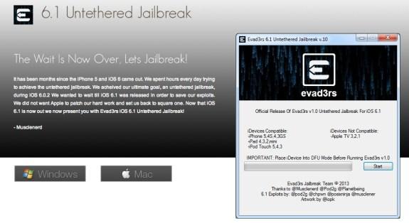 fake iPhone 5 jailbreak