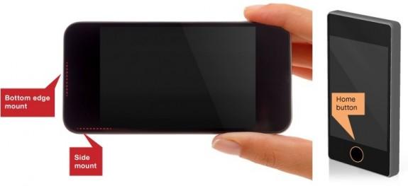 iPhone 5S fingerprint reader