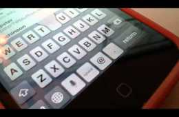 Video thumbnail for youtube video iPhone 5 Keyboard Glitch on iOS 6.0.2 (Video)