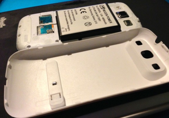mugen battery with nfc