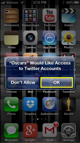 Allow Twitter