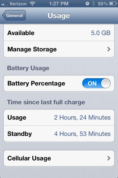 Bad iOS 6.1 Battery Life