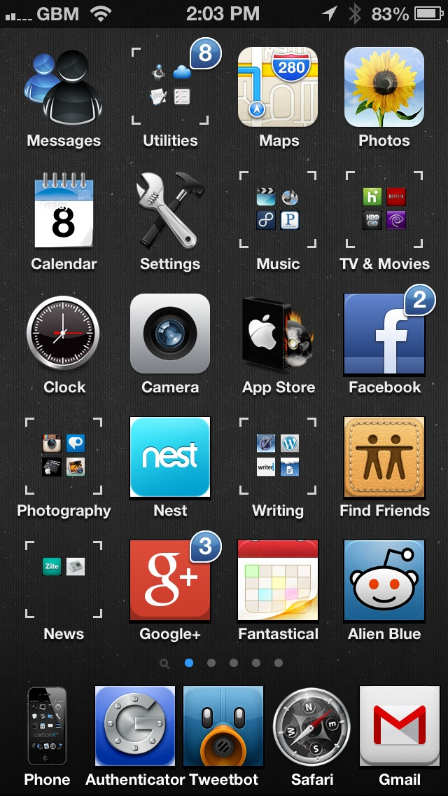 cool iphone themes cydia 2013 free