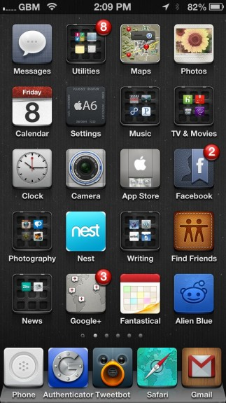 Best Cydia Themes - iOS 6 Winterboard Themes - Jaku