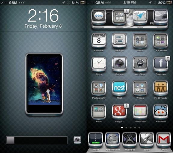 Best Cydia Themes - iOS 6 Winterboard Themes - LeviathanHaz3 HD