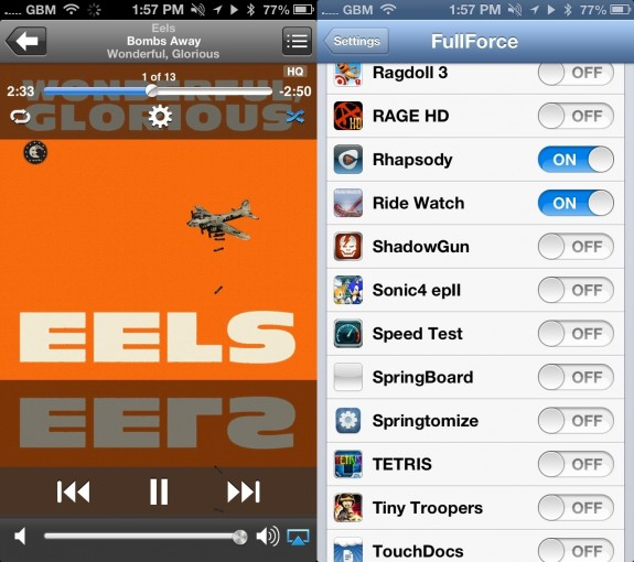 FullForce iPhone Cydia App