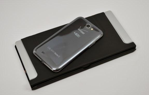 The Galaxy Note 2 and ZAGGKeys Flex keyboard.
