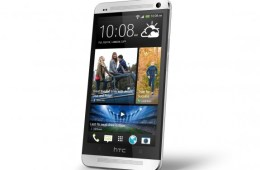 The HTC One features a full metal design.