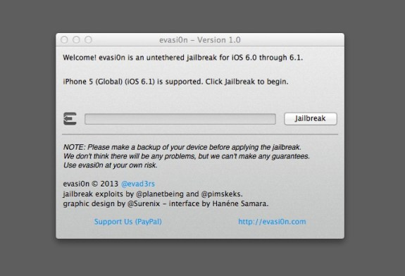 How to evasi0n iOS 6.1 Jailbreak - 3