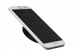 The LG WCP-300 is a thin wireless charger, which LG claims is the world's thinnest.