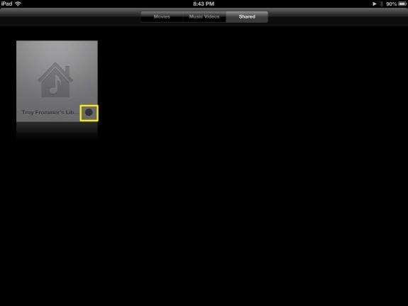 Loading Videos (iPad)