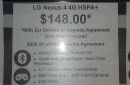 Nexus 4 Walmart