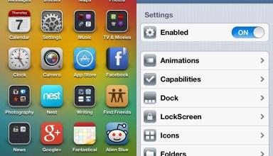 Springtomize best cydia apps