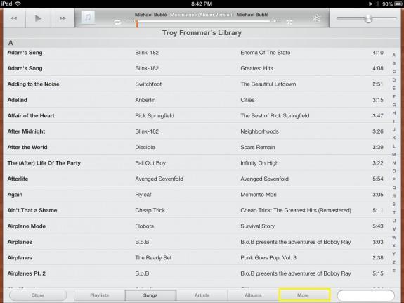 Switch Back (iPad)