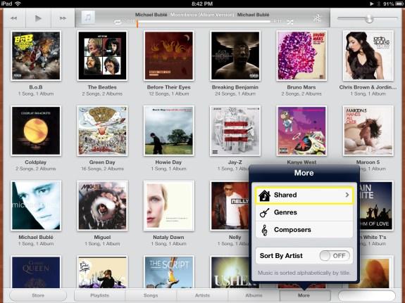 Tap Shared (iPad)