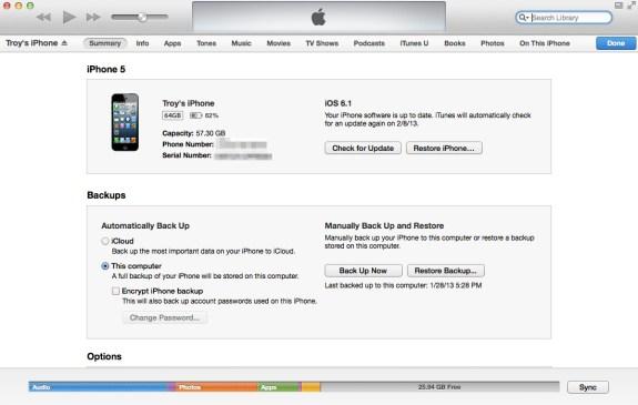 iPhone Info