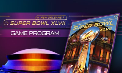 super bowl game program