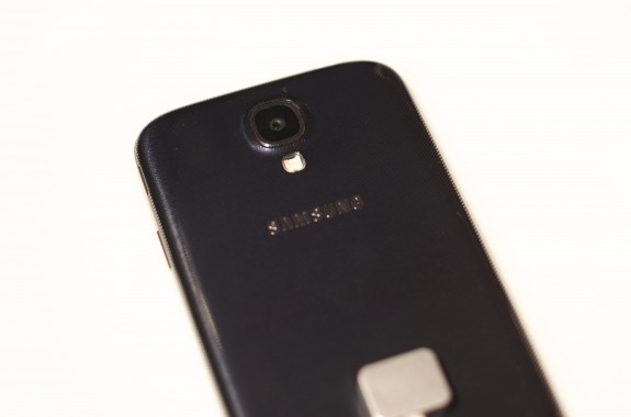 The Samsung Galaxy S4 features a 13MP camera.