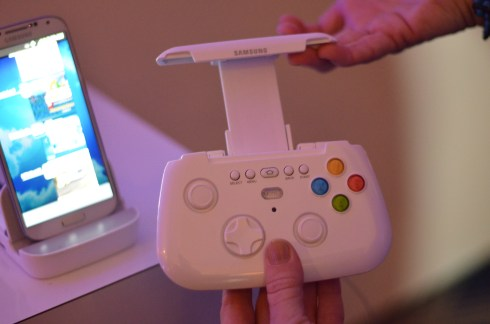 Samsung's new wireless gaming controller