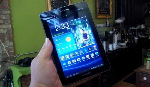 The Galaxy Tab 7.7 Jelly Bean update could be far off.