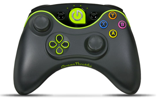 Green Throttle Atlas Controller