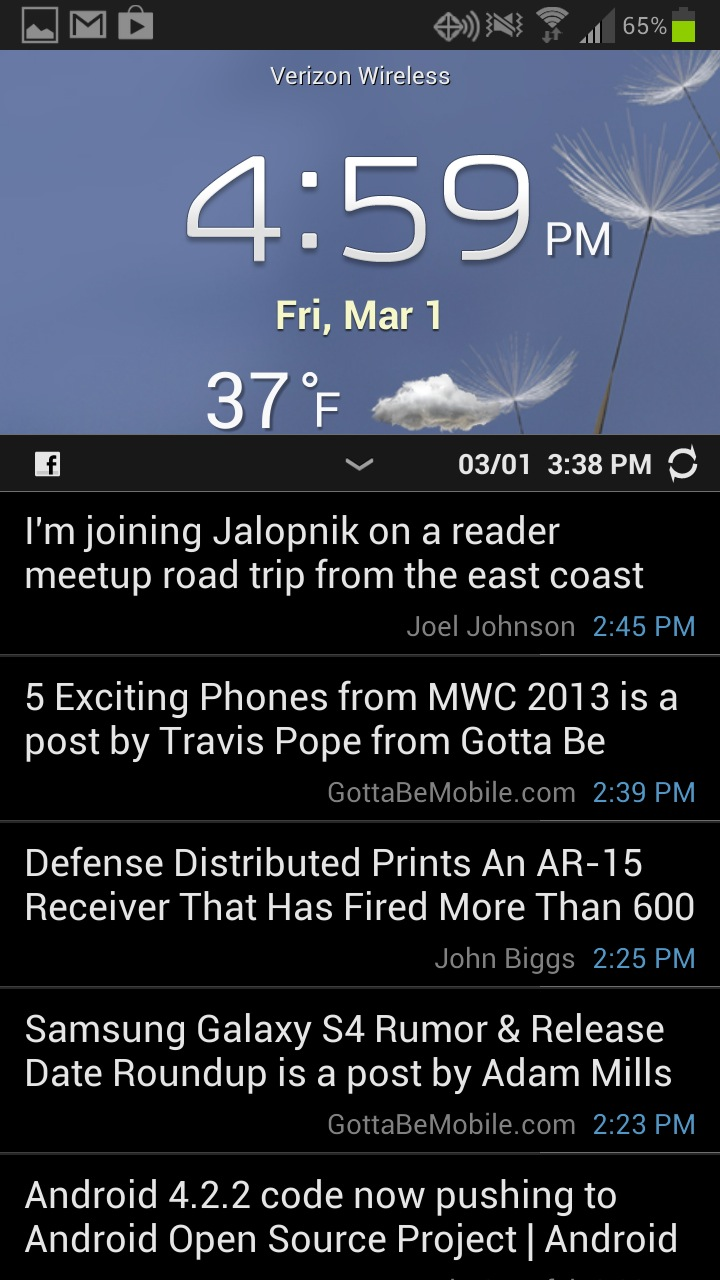 15 hidden samsung galaxy s3 features see facebook status updates on the galaxy s3 home screen biocorpaavc