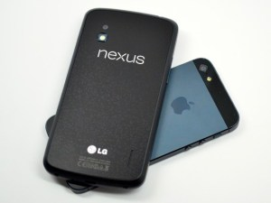 The Nexus 4 glass back is fragile, a design Apple left behind with the iPhone 5.