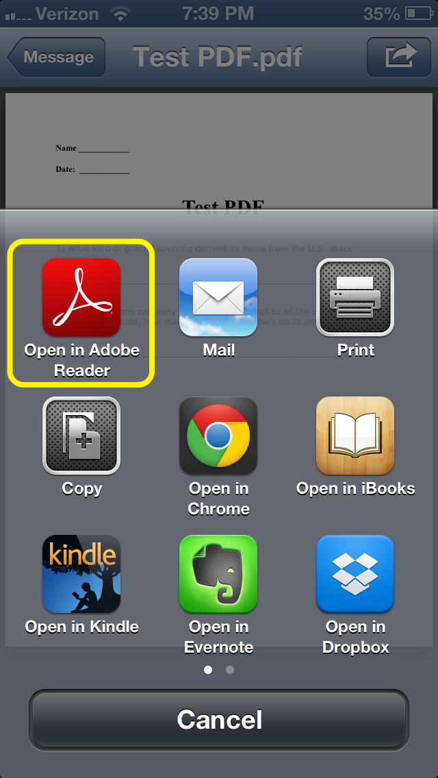how to sign pdfs on the iphone