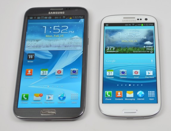 Samsung is aware of the Galaxy S3 and Galaxy Note 2 lock screen issues.