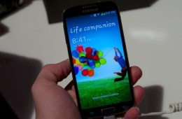 The Galaxy S4 brought 1080p to a Samsung smartphone for the first time.