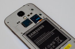 The Samsung Galaxy S4 with an AT&T SIM, the Galaxy S4 pre-orders start on April 16th for $249 with a two-year contract.