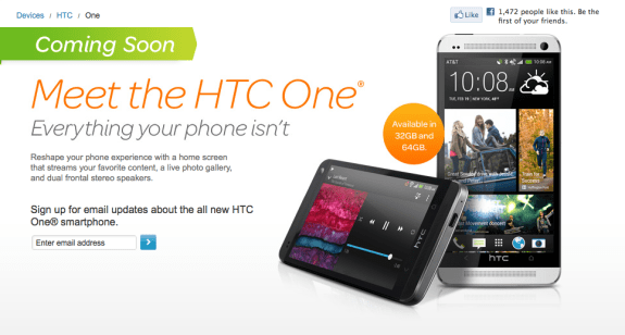 The HTC One release date in the U.S. remains unconfirmed.