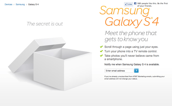 The Galaxy S4 will be heading to AT&T and other U.S. carriers in the weeks ahead.