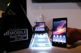 The Sony Xperia Z is still waiting for Android 4.2 it seems.