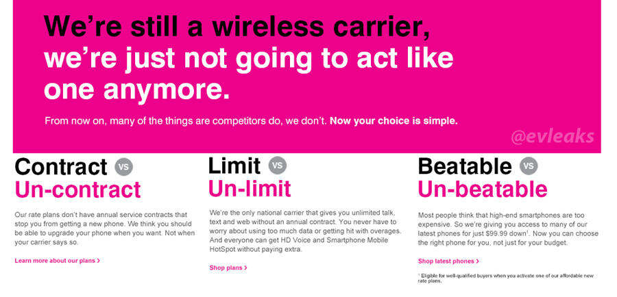 3 Things to Know About T-Mobile & Uncarrier Before You Buy