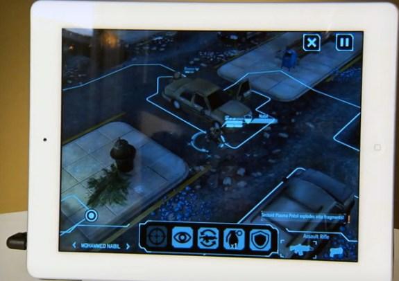 XCOM Enemy Unknown on iPad