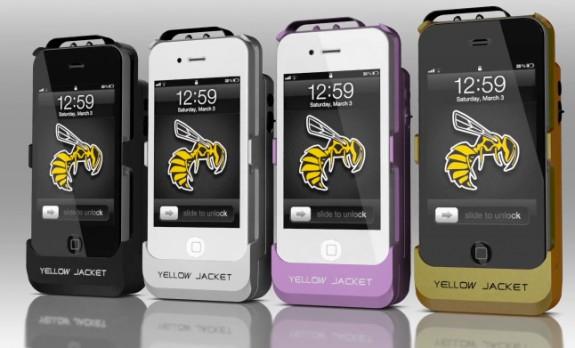 Yellow_Jacket_iPhone_4_case