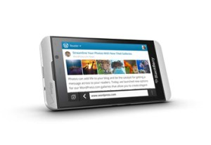 The Verizon BlackBerry Z10 is heading to shelves on March 28th.