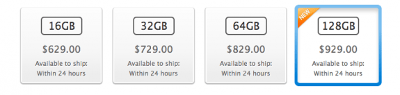 Possible breakdown of the iPad 5 price with LTE.