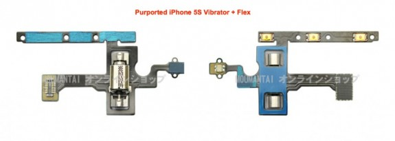 A claimed iPhone 5S vibrator part leaks ahead of the launch.