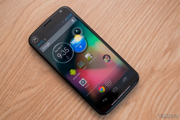The Moto X is thought to be coming out sometime later this year.
