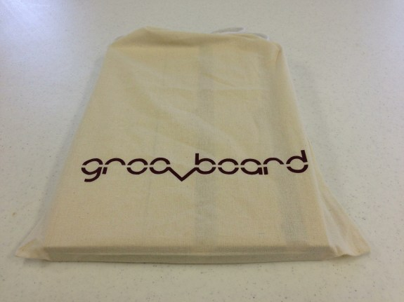 groovboard in the carrying bag