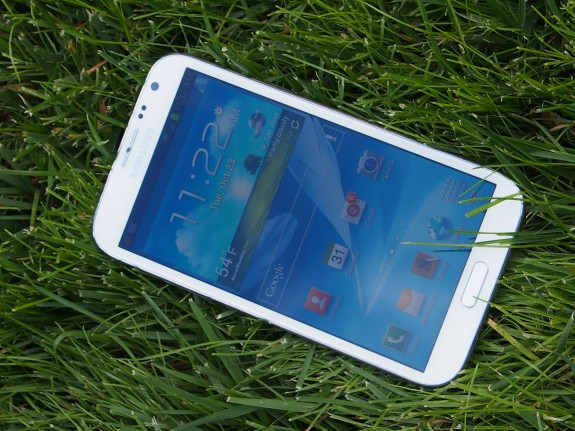 The Galaxy Note 2 will get Android 4.2, it's just a matter of time.