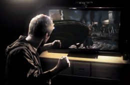 The original Ryse trailer showed gamers fighting in ancient Rome using the Kinect.